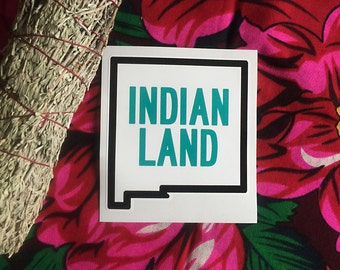 INDIAN LAND (New Mexico) sticker