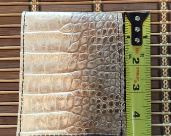Gator Hide Billfold Wallet