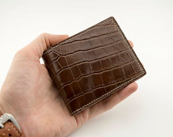 leather purse - Leather Wallet- Wallet-Leather Card Holder Leather-Handmade