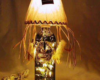 Souvenir from Arizona. Southwest/Cowboy/Native American Dream Catcher style table lamp.  FREE SHIPPING.