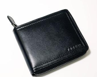 Zip Wallet - All Around Zip Wallet - Black - Model II