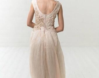 Wedding dress alternative | silk wedding dress | boho dress | bridal dress | Beach wedding | nuno dress |  boho wedding dress