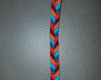 Custom Friendship Bracelet - Small Braid (5 colors)