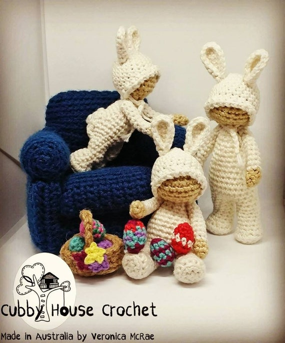 Crochet Pattern Package 4x Patterns Includes A Free Mod