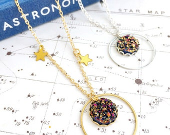 Orbit Cluster Necklace