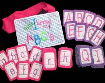 In Hoop Alphabet Set