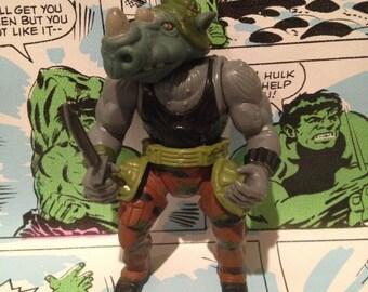 Rocksteady Action Figure Teenage Mutant Ninja Turtles TMNT