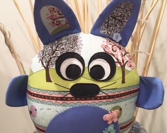 Handmade Stuffed Bunny Rabbit