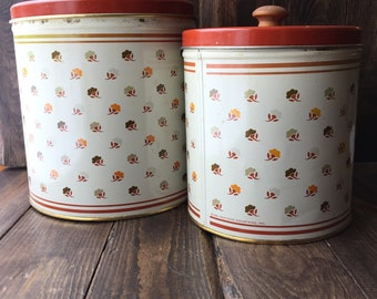 Kitchen Canister set of two