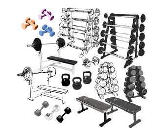 Workout Clipart - Weight Lifting Clipart, Exercise Clipart, Weight Training Clipart, Fitness Clipart, Gym Clipart, Dumbbell Clipart