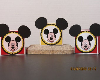 Mickey Mouse Favor/Treat Boxes