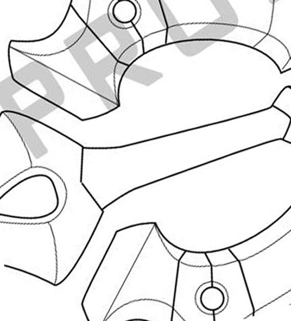 rainfell keyblade template  blueprint