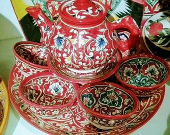 Tea set. 2 types
