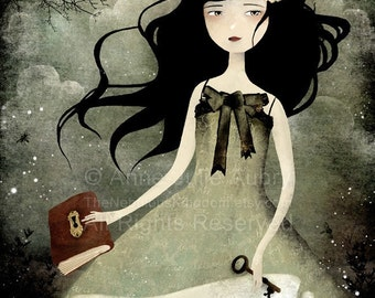 Once upon a time... - Deluxe Edition Print - Whimsical Art