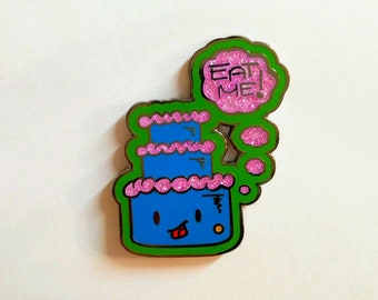 Eat Me Cake Kawaii Food Mo Mitchell Hat Pin