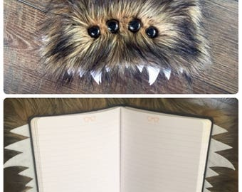 Furry Monster Journal Lined