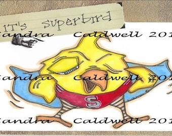 2249 Super Birdie Digi Stamp