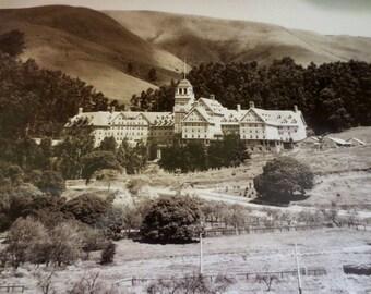 Claremont Hotel 1915 Antique Photograph Sepia Print - Berkeley California