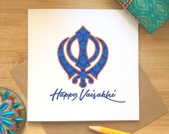 Vaisakhi, Happy Vaisakhi Card, Vaisakhi Celebrations, Baisakhi, Sikh Festival, Punjabi, Vaisakhi Greetings, Spring Harvest, Sikh Khanda