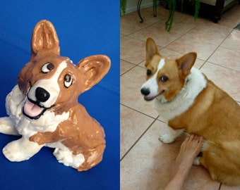 Custom dog figurine - based on your dog