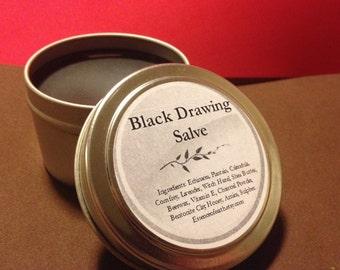 Black drawing salve - Herbal Salve - Vegan Salve