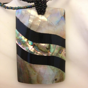 Vintage Mother-of-Pearl Necklace