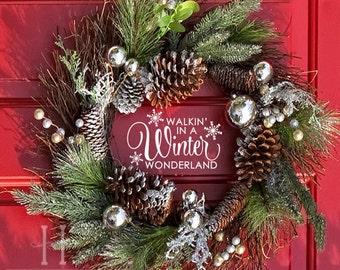 More Colors Snowflake Vinyl Decal Christmas Decor