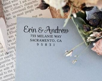 Address Stamp - Self Inking Address Stamp - Customized Stamp - Return Address Stamp - Wedding Gift - Housewarming Gift
