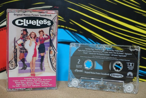 Clueless - Original Motion Picture Soundtrack by Various Artists Vintage Cassette Tape