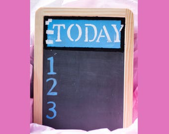 Custom Chalkboard To-Do List - 7x10