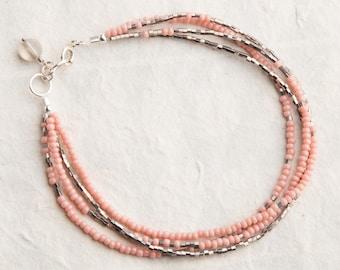Smokey Rose Bracelet