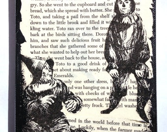 Wizard of Oz Art Collage, Scarecrow Art Collage