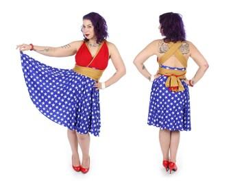 Amazon Warrior Convertible Dress