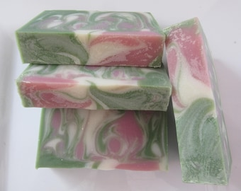 Apple Sage soap