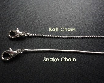 Additional chain to add to personalized jewelry