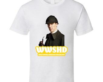 Wwshd What Would Sherlock Holmes Do Fan T Shirt