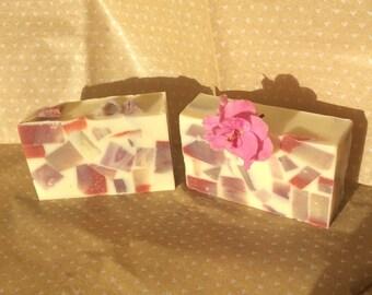 The Flower Garden soap