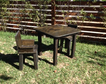 childrens wood table and chair set childrens table and chair set