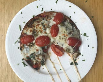 Gluten-Free Vegan Pizza Crust & Flat Bread (3 pieces)