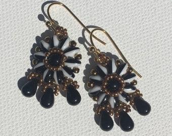 Venetian Pinwheel Earrings