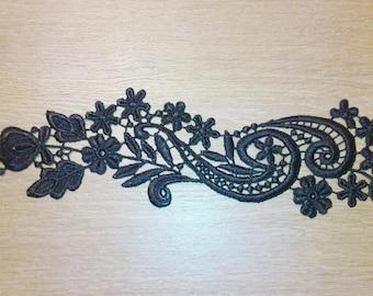 1 Scrapbooking Venice Guipure lace applied