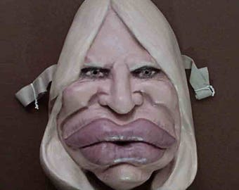 Donatella Versace-Caricature Mask