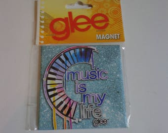 Glee Music Is My Life Piano Art Magnet Gleek Destash Sale! New in Package Party Favors Collectible Gifts for Music Fans