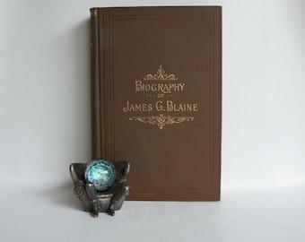 James G. Blaine // Historical Book // Political Book //  Collectible Book // Historical
