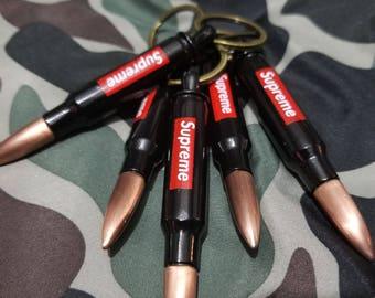 Supreme Bullet Bottle Opener Key Chain