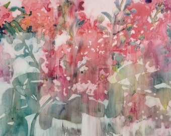 Original Painting  Crepe Myrtle Series #4