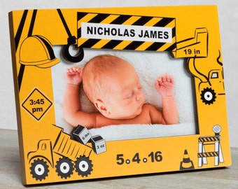 Personalized Baby Picture Frame, Baby Boy Picture Frame, New Baby Boy Frame, Baby Boy Birth Frame, Picture Frame Baby Boy, Baby Boy Frame