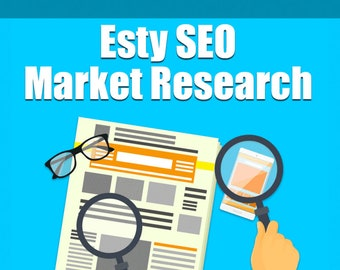 Etsy Shop Review and Industry Research, Etsy SEO Help, Video Walkthrough, Learn Etsy Titles and Tags, Find Keywords For Your Etsy Listings