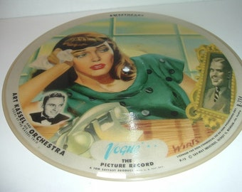 2 Sided Vintage Vogue Picture Record R734 Sweetheart and A Little Consideration