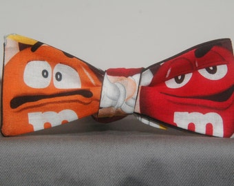 Gigantic M&Ms  Bow Tie